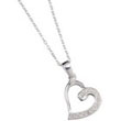 Necklace Heart 01
