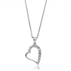 Necklace Heart 04